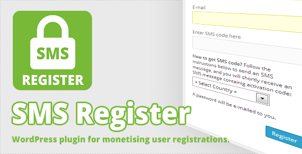 CodeCanyon SMS Register 7263077