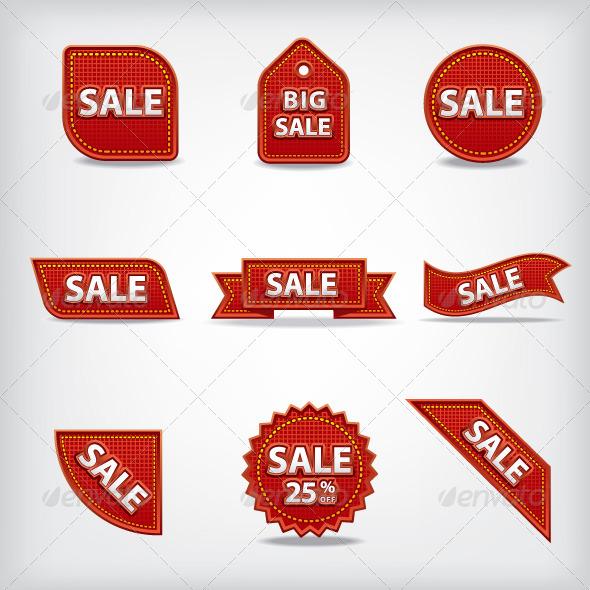 GraphicRiver Sale Tags 7278632