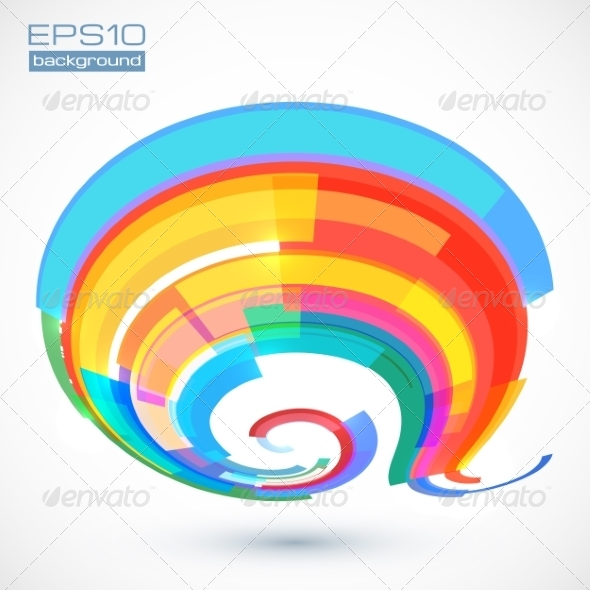 GraphicRiver Abstract Colorful Curve 7278674