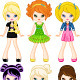 Girl Characters - GraphicRiver Item for Sale
