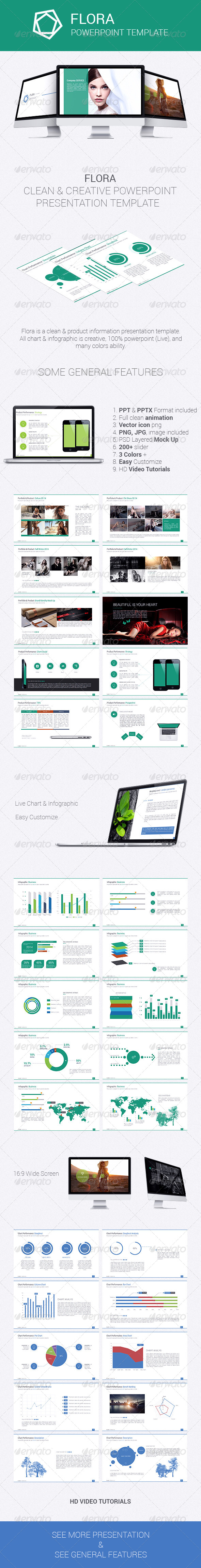 GraphicRiver Flora Presentation Template vol.1 7241773