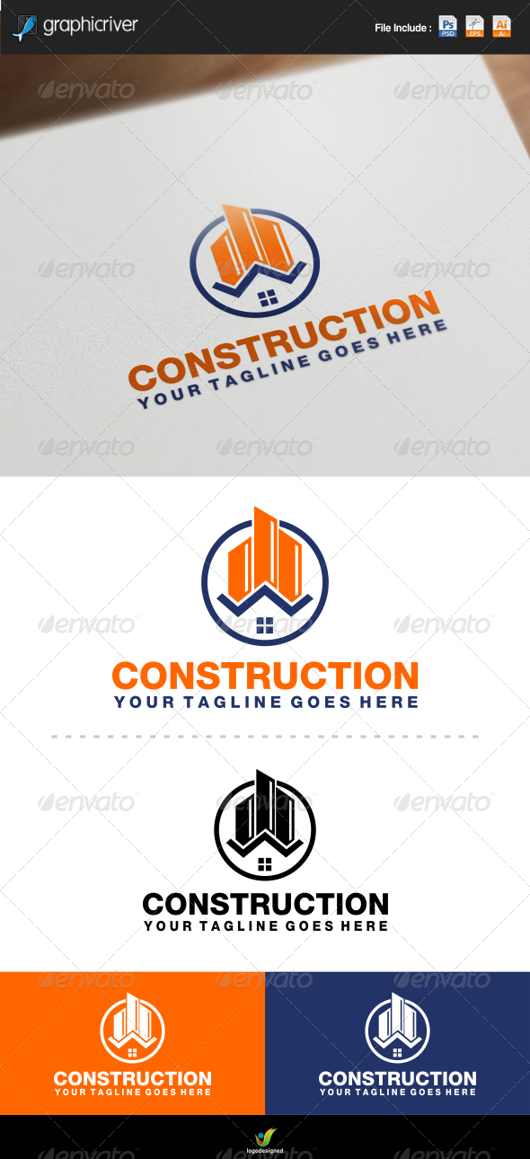GraphicRiver Construction Logo 7278730