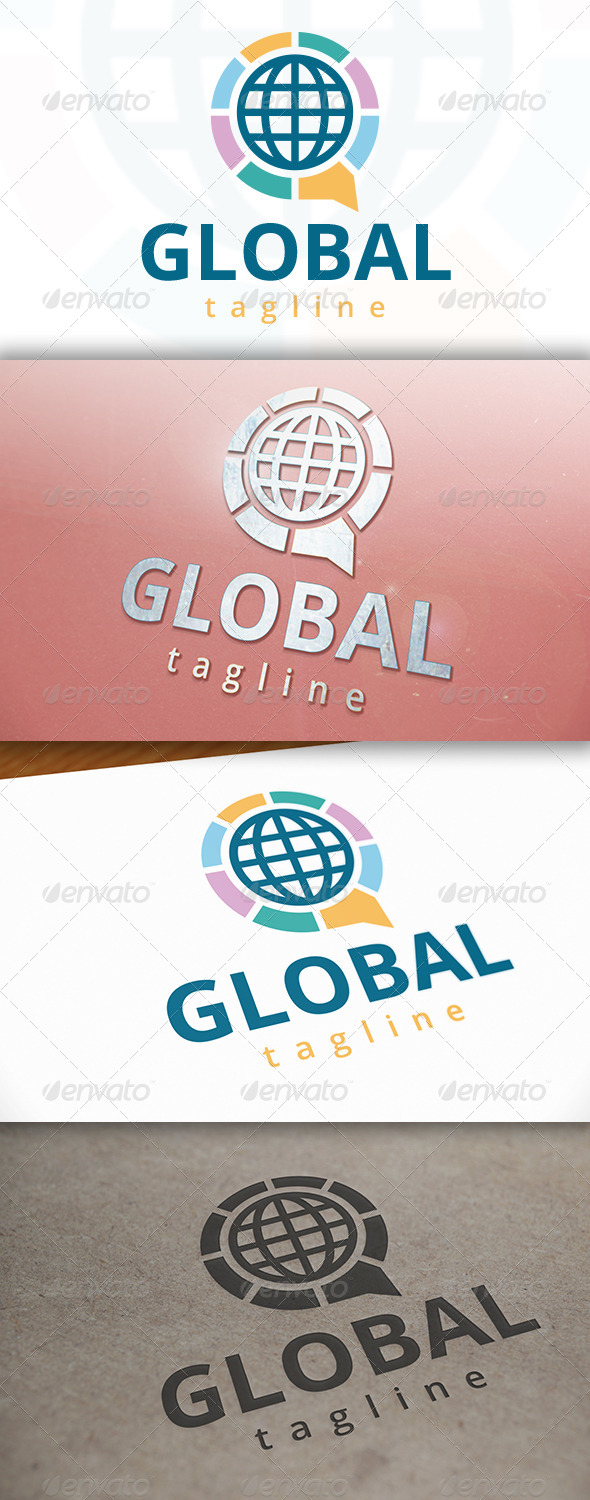 GraphicRiver World Chat Logo 7278804