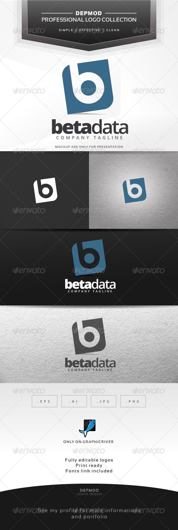 GraphicRiver Beta Data Logo 7278852