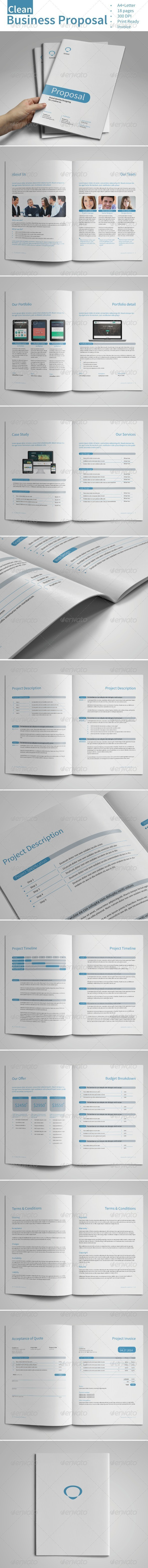 GraphicRiver Clean Business Proposal Vol.2 7279059
