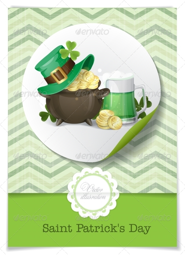 GraphicRiver St Patrick s Day Background 7279648