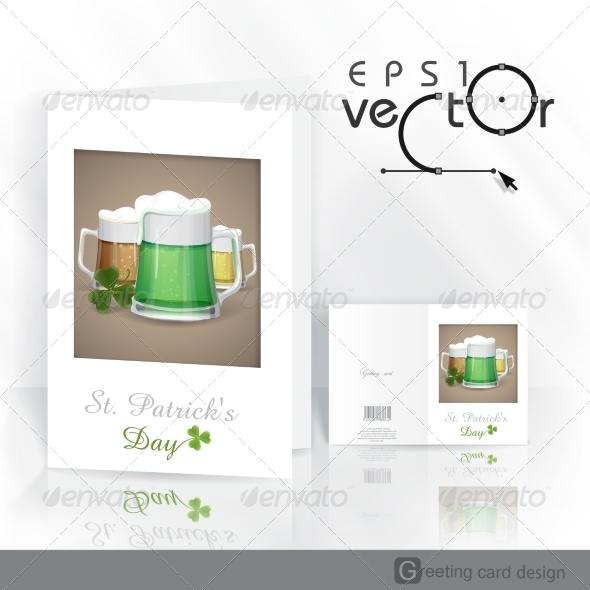 GraphicRiver Mug of Green Beer for St Patrick s Day 7279708