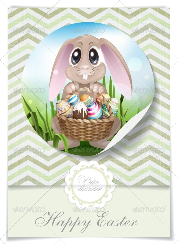 GraphicRiver Happy Easter Background 7279772