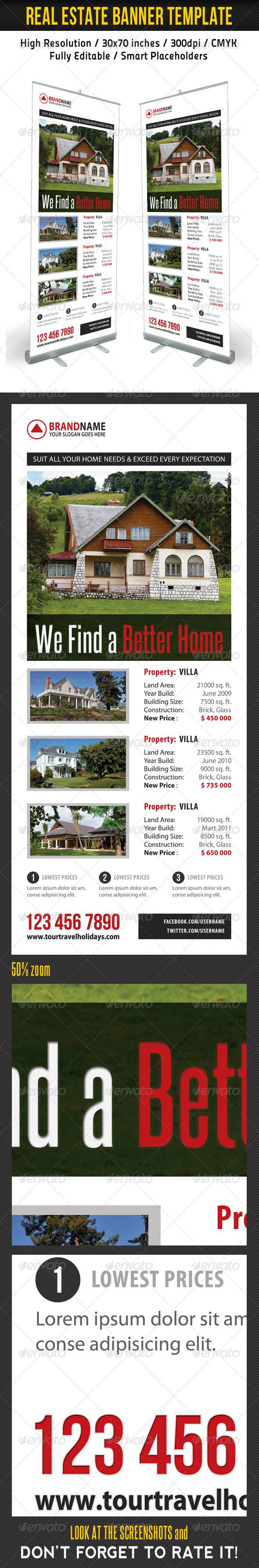 GraphicRiver Real Estate Banner Template 05 7279856
