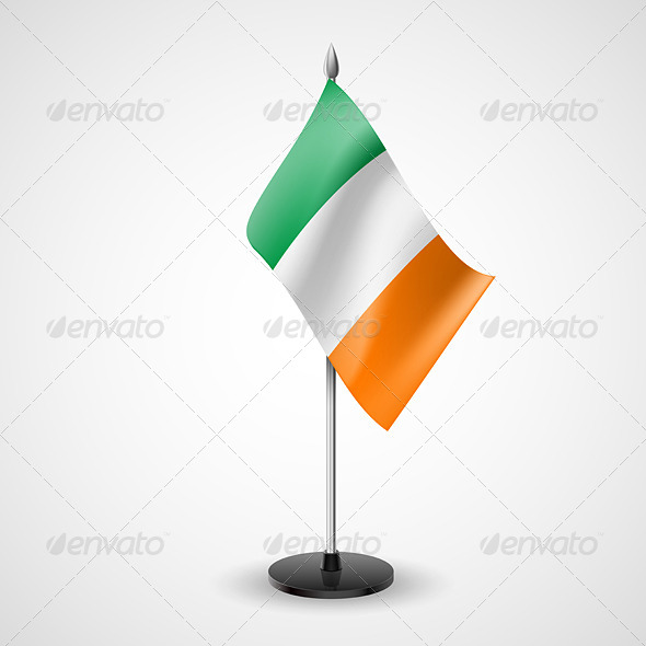 GraphicRiver Table Flag of Ireland 7280323