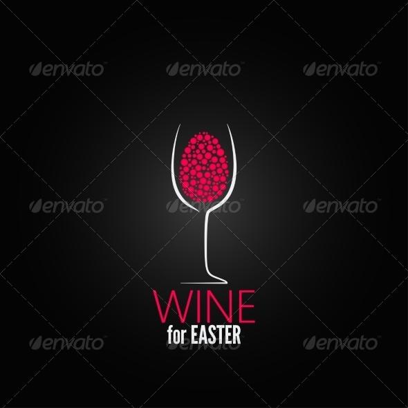 GraphicRiver Wine Easter Design Background 7280331
