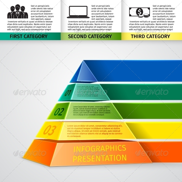 GraphicRiver Pyramid 3D Infographics 7281202