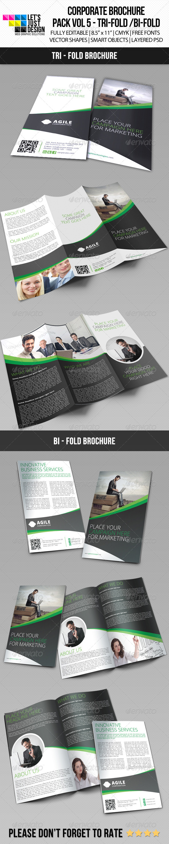 GraphicRiver Creative Corporate Brochure Bundle Vol 6 7281252