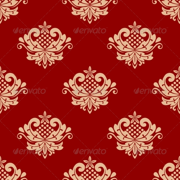 GraphicRiver Floral Pattern 7281372