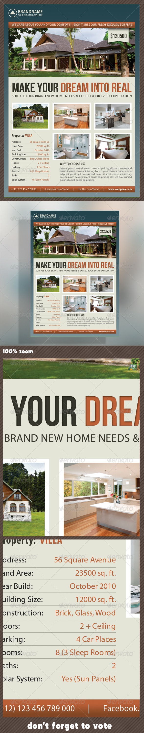 GraphicRiver Real Estate Corporate Flyer 05 7281626
