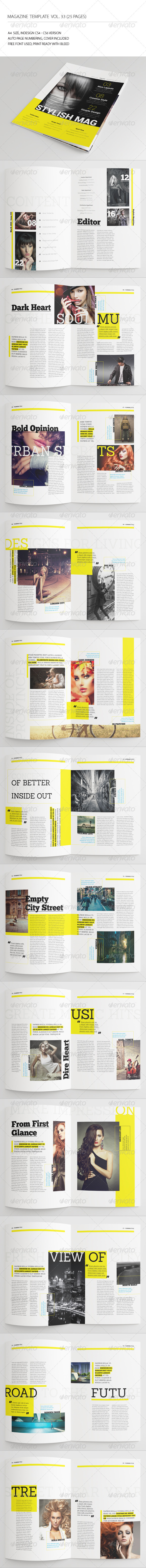 GraphicRiver 25 Pages Urban Magazine Vol33 7260297