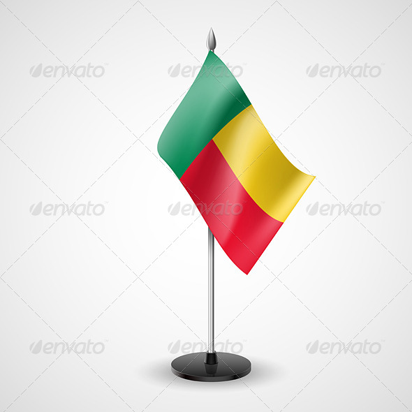 GraphicRiver Table Flag of Benin 7282177