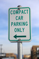 Compact car parking only sign  - PhotoDune Item for Sale