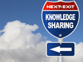 Knowledge sharing road sign - PhotoDune Item for Sale