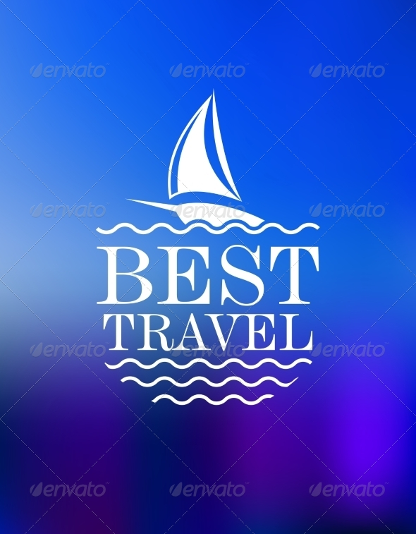 GraphicRiver Yachting Symbol with Travel Header 7284849