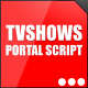 TVShows Portal Script - CodeCanyon Item for Sale