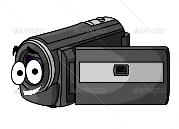 GraphicRiver Happy Cartoon Video Camera 7285029