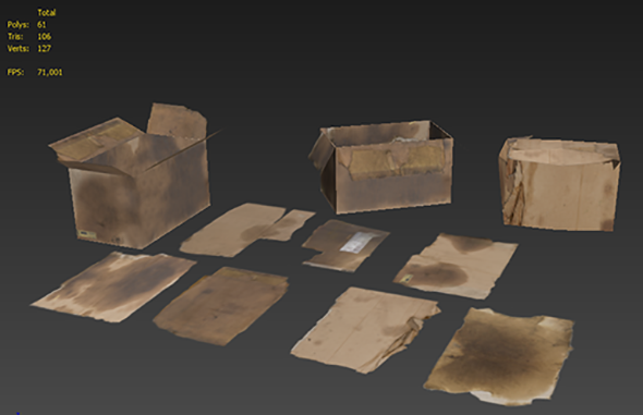 3DOcean Cardboards 7285056