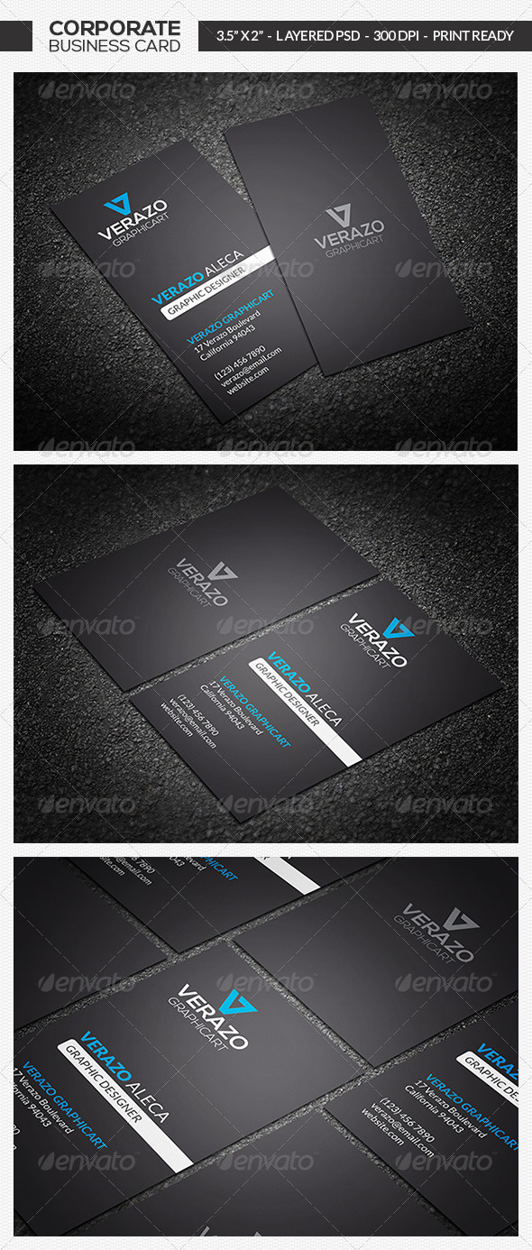 GraphicRiver Clean & Minimal Business Card 16 7285307