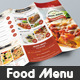 Trifold Restaurant Menu 2 - GraphicRiver Item for Sale