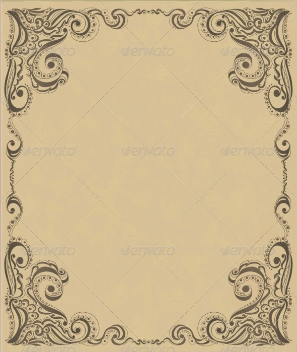 GraphicRiver Template Frame Design for Card 7285498