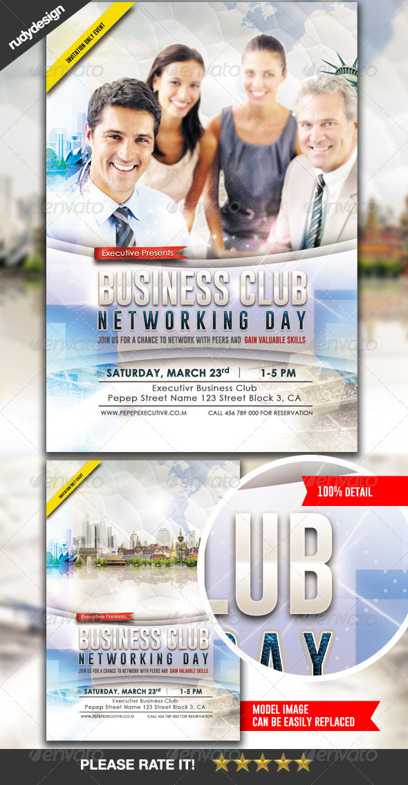 GraphicRiver Business Flyer Template Design 7285582