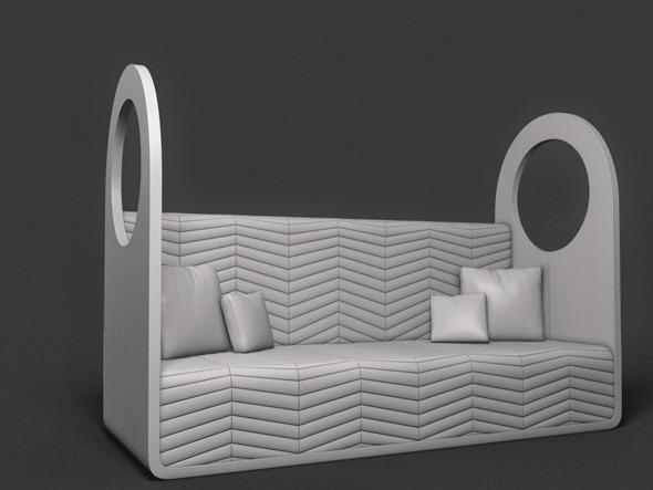 3DOcean sofa 7285591