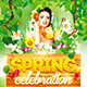 Spring Celebration Party Flyer - GraphicRiver Item for Sale