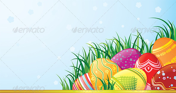 GraphicRiver Easter Eggs 7285738
