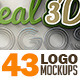 Bundle - 43 Logo Mockup Templates - GraphicRiver Item for Sale