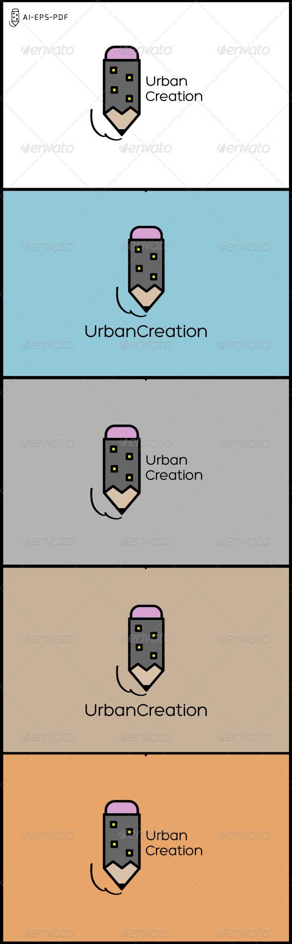 GraphicRiver Urban Creation City Logo 7286296
