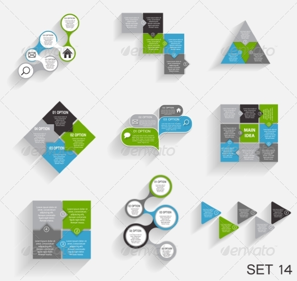 GraphicRiver Collection of Infographic Templates for Business 7286862