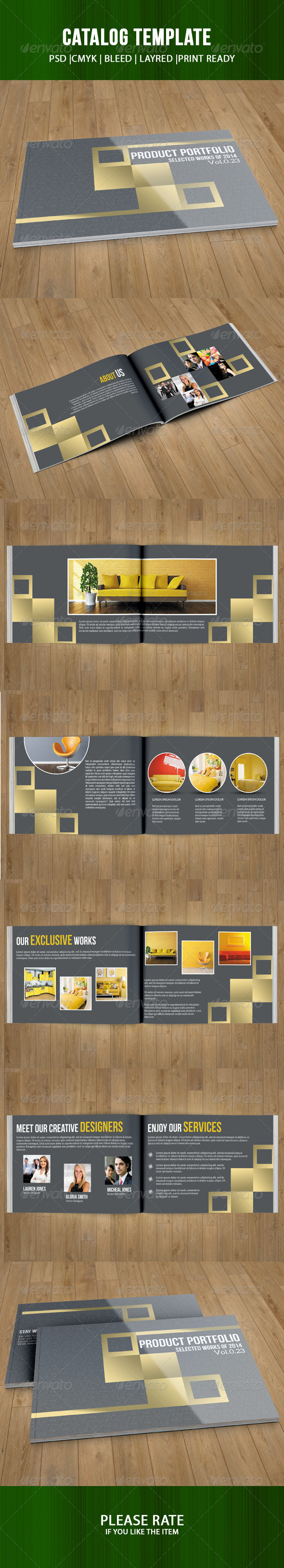 GraphicRiver Interior Catalog Template 7286902