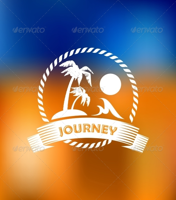 GraphicRiver Tropical Summer Vacation Icon 7287038