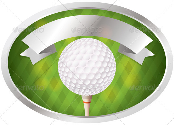 GraphicRiver Golf Emblem 7287697