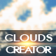 Cloud Shapes and Brushes Photoshop Creator - GraphicRiver Item for Sale