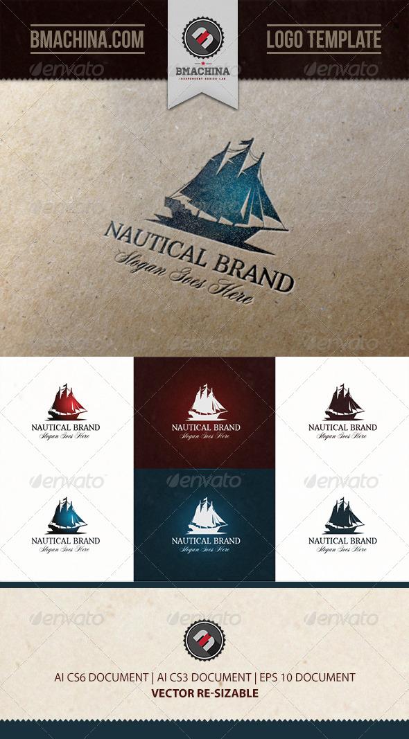 GraphicRiver Nautical Brand Logo 7290666