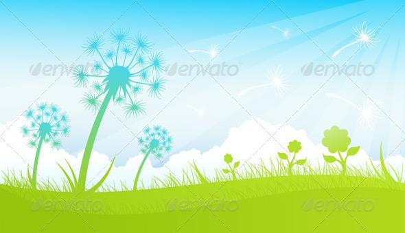 GraphicRiver Dandelions 7290883