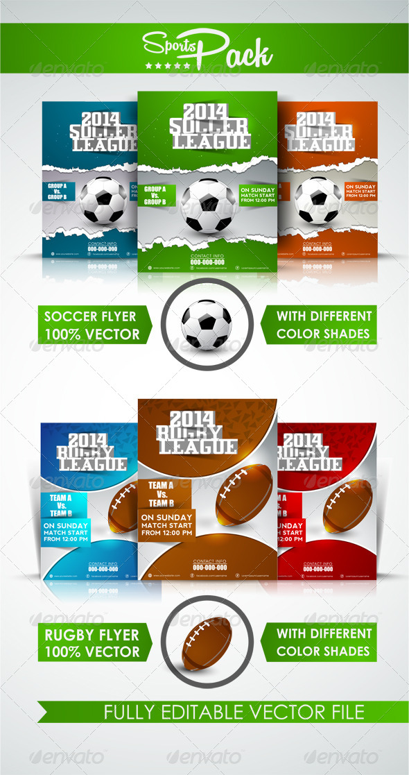 GraphicRiver Sports Pack 7290894