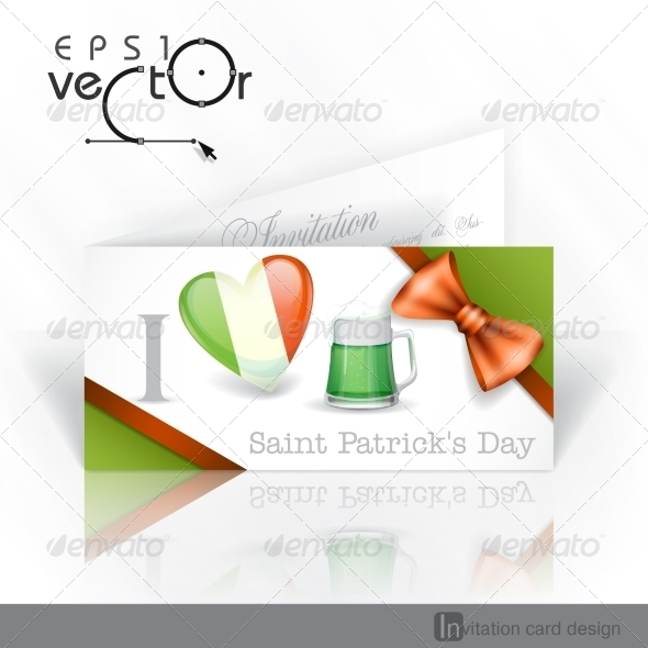 GraphicRiver St Patrick s Day I Love Beer 7290899
