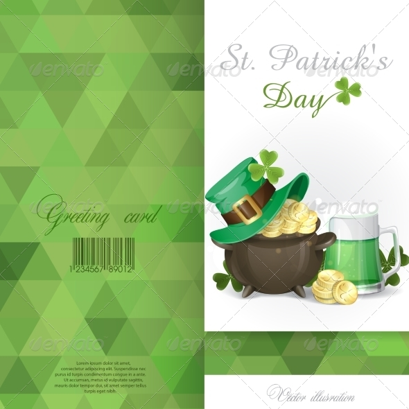 GraphicRiver St Patrick s Day Background 7290986