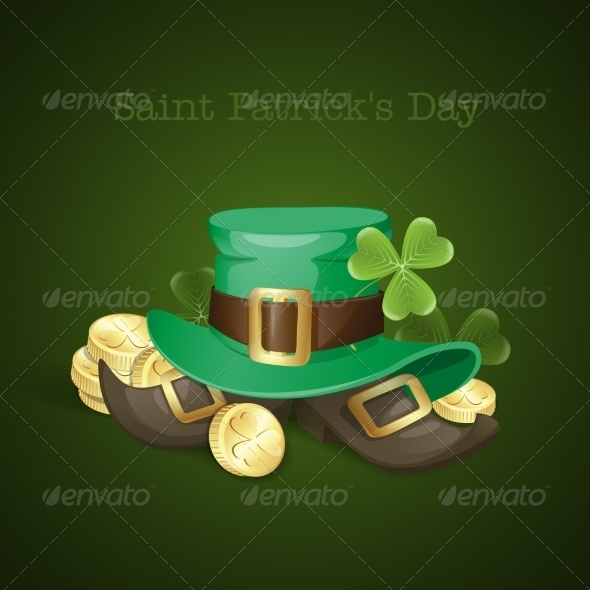 GraphicRiver St Patrick s Day Background 7290994