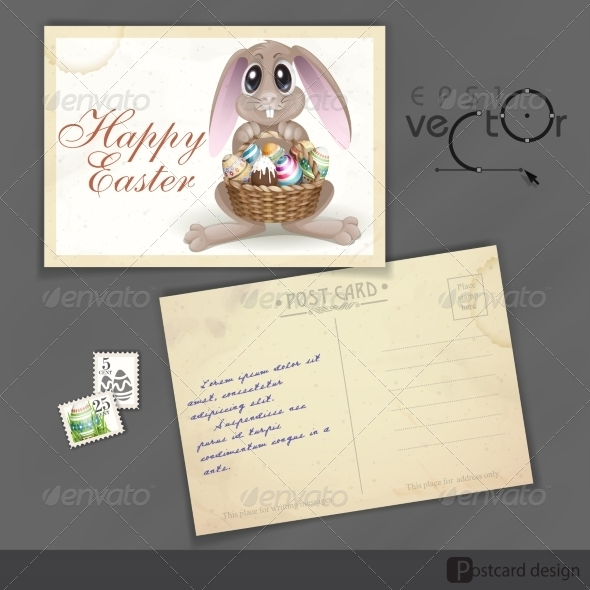 GraphicRiver Happy Easter Background 7291001