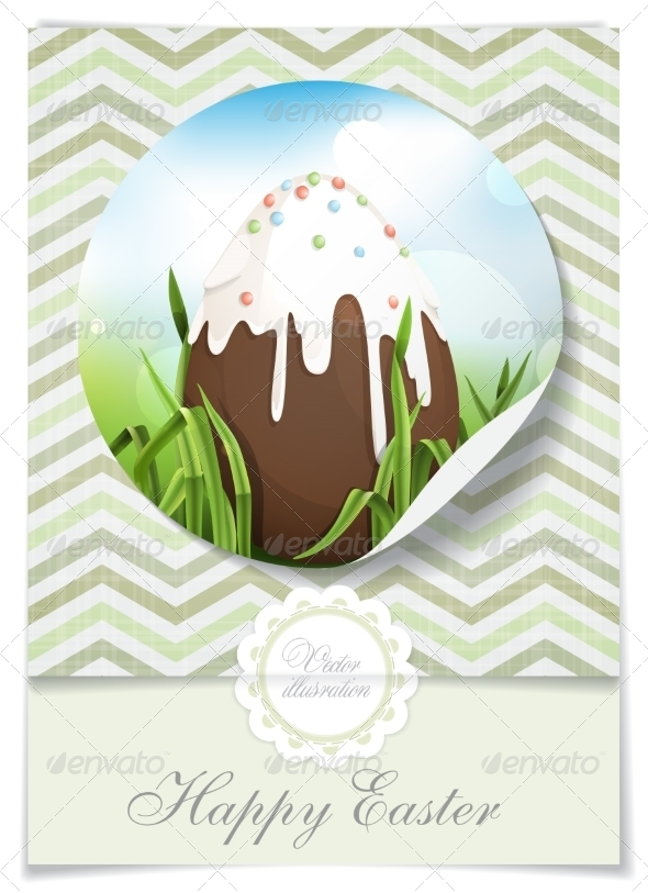 GraphicRiver Chocolate Easter Egg 7291020