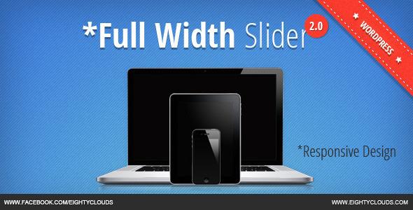 CodeCanyon Full Width Slider 2 for Wordpress 7291033